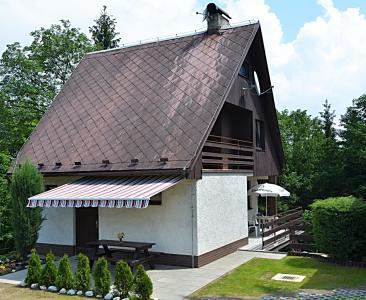 Chata u hradu Bouzov - rekreační ubytová - ubytování Střední Morava - chata k pronajmutí  na Střední Moravě - fotografie č. 1