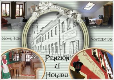 Penzion a Kavárna U Holubů Nový Jičín - ubytování Beskydy - ubytování v penzionu v Beskydech - fotografie č. 1