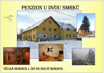 Penzion U dvou smrků - ubytování Orlické hory - ubytování v apartmánu v Orlických horách - fotografie č. 1