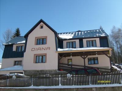 penzion Diana - ubytování Jizerské hory - ubytování v penzionu v Jizerských horách - fotografie č. 1