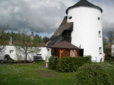 hradební věž + domek Na Hradbách - ubytování Jižní Čechy - chalupa k pronajmutí v Jižní Čechách - fotografie č. 1