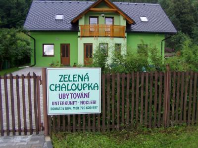 Zelená chaloupka - ubytování Jeseníky - chalupa k pronajmutí v Jeseníkách - fotografie č. 4