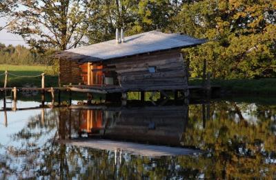 Ubytování na vodní hladině - ubytování Jižní Čechy - chata k pronajmutí  v Jižní Čechách - fotografie č. 3