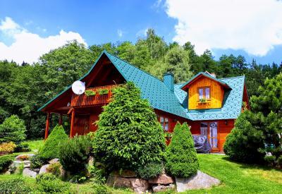 chata Úsvit - ubytování Krušné hory - chata k pronajmutí  v Krušných horách - fotografie č. 1