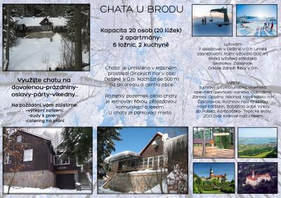 CHATA U BRODU - ubytování Orlické hory - chalupa k pronajmutí v Orlických horách - fotografie č. 15