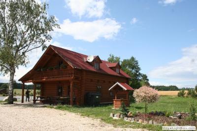 Srub u rybníka - ubytování Jižní Čechy - chata k pronajmutí  v Jižní Čechách - fotografie č. 1