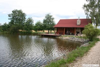 Srub u rybníka - ubytování Jižní Čechy - chata k pronajmutí  v Jižní Čechách - fotografie č. 2