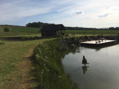 Chata s rybolovem - ubytování Jižní Čechy - chata k pronajmutí  v Jižní Čechách - fotografie č. 9